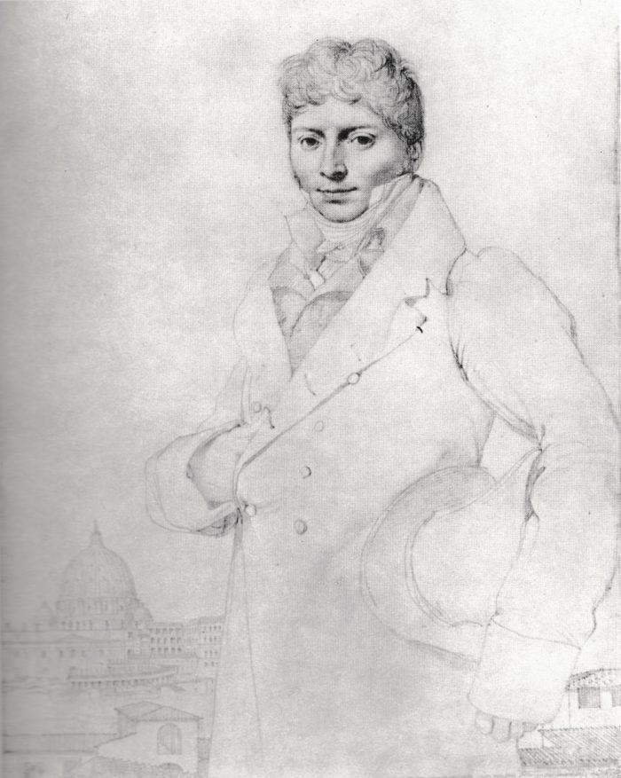 Ingres-DoctorJean-lOuis Robin1808-1809
